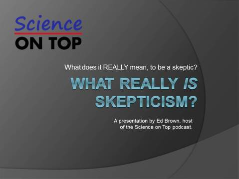 What Really IS Skepticism?