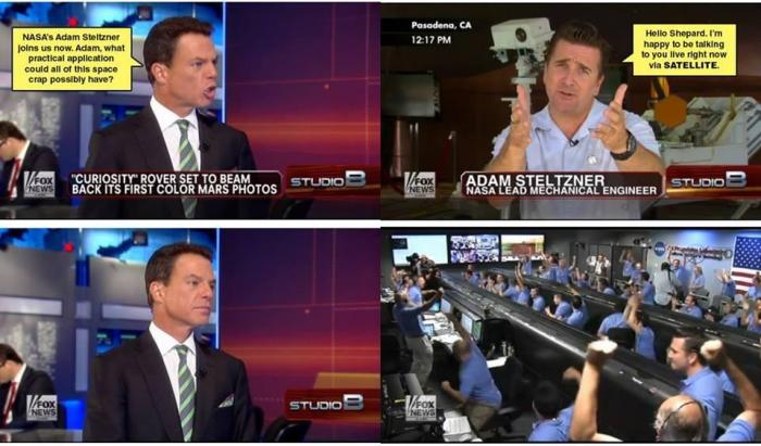 Shepard Smith vs Adam Steltzner