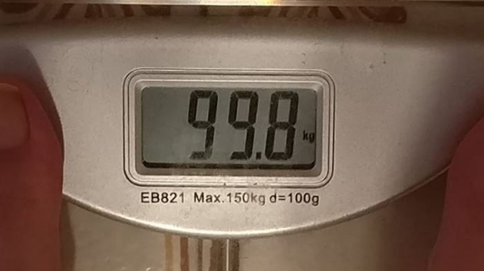 weight 99kg crop